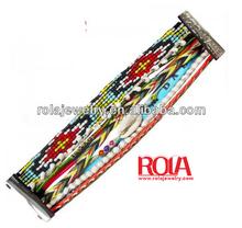 2014 New Design alloy magnetic clasp/Brazilian style bracelet/multilayer bracelet