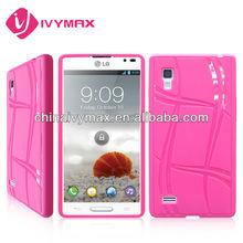 for LG optimus L9 P760 tpu flip cover cases