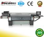 Docan uv large format digital printer for glass metal acrylic alucobond MDF plastic
