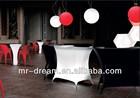 illuminated led bar counter/led bar furniture/led plastic bar counter