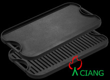 cast iron baking pan cookware in different size