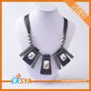 latest design wholesale costume fashion black Pendant necklace