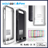 MFI Authorized for iphone 5 case and power supply real 2400mAh with original connector