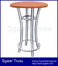 Standard Truss Bar With 2 Aluminum Curved Legs truss chair