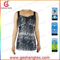 Custom printing fitness wear for ladies