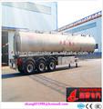 Al petroleiro, liga de alumínio tanque de óleo semi- trailer, tanque de combustível reboquesdocaminhão