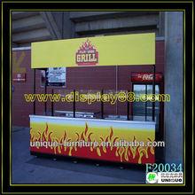 2014 New arrival food cart design, food vending carts, mobile fast food van