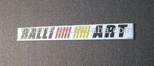 Car Chrome Badge Emblem For Lancer Ralliart Aoto Stickers Chrome Badge