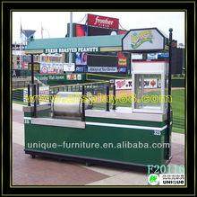 New arrival fast food cart design, fast food van for sale