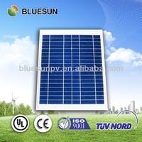 Bluesun hot sell poly 10w solar panel 20v