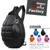 SENKEY STYLE turtle shaped pop men and female sport bag for student sports in stock backpack