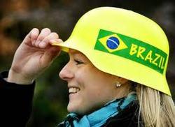 World cup 2014 gadget Brasilian Helmets