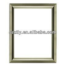 golden extruded aluminum frame by anodizing 13*13MM u shape 780*1000MM size 45 degree corner