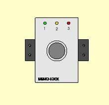 MEMO LOCK work computer