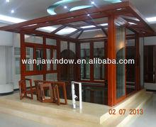 Outdoor glass room