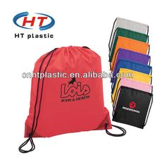 HTN013 nylon drawstring laundry bag