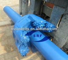Assembled bit/large diameter drill bis