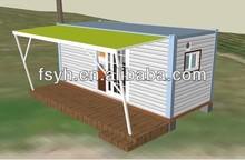 prefab beach container house