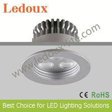 dc350mA diameter 56mm, cut 48mm LED dowlight 3W CE RoHs Approval