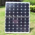 amplamente utilizado em painéis solares