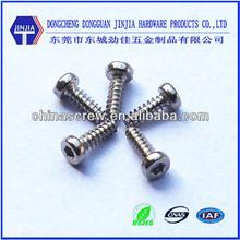 m1.7*5 mm nickel precision torx cheese head screws