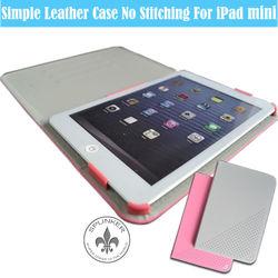 Fashionable Leather Stand Book Style PU For iPad Mini Case U5001-125
