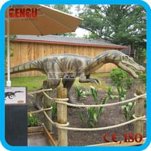 Jurassic realistico dinosauro animatronic parco dei dinosauri