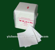 X-3 White Viscose & Polyester Nonwoven Wipe