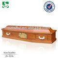 qualificado funeral oferta adulto atacado caixões de exportação