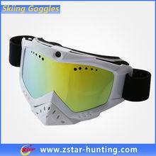 Double Lens Anti Fog Custom Printed Moto Ski Goggle