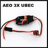 AEO X3 3A UBEC input 6v-23v - Output 3.3v 3A, Small and lightweight
