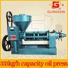 China machinery 8ton/day hot selling hazelnut oil press machine