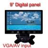 LCD car pc monitor 9''Touch monitor with VGA/AV input (MU9700s)