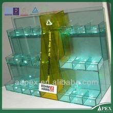 Hot sale floor standing acrylic cosmetic displays
