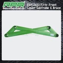 strut subframe x brace panel bar for Honda Fit Jazz City