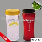 2014 hot selling 400ml insulated BPA free plastic coffee cup