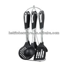kitchen cooking utensils stand&fashion design nylon utensil set HS7680C
