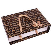 China cheap paper bag / mini custom printed small kraft brown paper bag