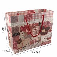 personalized paper bag / retail paper bag / custom printed wine bottle multi wall waterproof paper bag