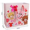 personalized paper bag / retail paper bag / strong brown machine kraft paper bag
