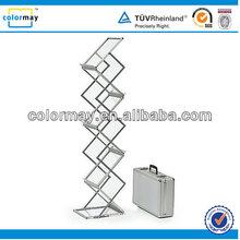 Acrylic Catalogue Shelf literature Display, Folding Brochure Stand, Brochure Holder Stand