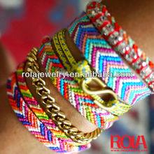 Pearl weaving bracelets brazilian bracelet Accessory