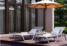 swimming pool rattan sun lounger for sale J087#