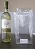 Clear PVC Wine Bottle Bags