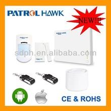 Russian version user manual gsm wireless intelligent home burglar security alarm system PH-G1