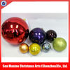 High quality colorful plastic christmas ball