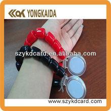 New design low price ID EM4100/TK4100 wristband/bracelet 125khz with factory price