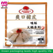 frozen dumplings food packaging cooler snack bag