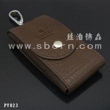 smart men leather key case