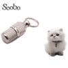 barrel pet id tag /address label tube dog collar